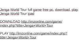 Jenga World Tour full game free pc, download, play. Jenga Wo