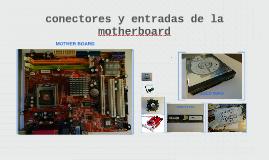 motherboard entradas