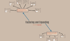 Factoring and Expanding