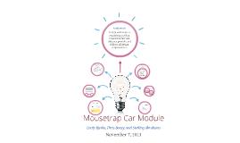 Copy of Mousetrap Car Module