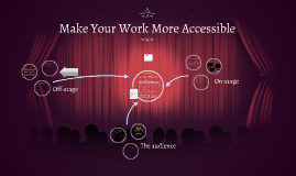 Make Your Work More Accessible
