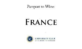 France Wine Tasting
