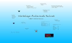 Workshops Audiovisuele Techniek