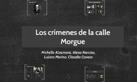 Crímenes de la calle Morgue