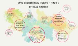 Copy of Curriculum design - task 1