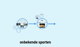 onbekende sporten