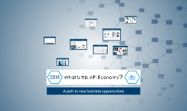 A view of the API Economy?