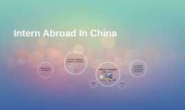 Intern Abroad In China