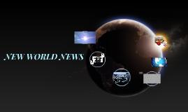 NEW WORLD NEWS