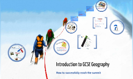 Introduction to GCSE Geography