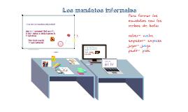 los mandatos informales y afirmativos