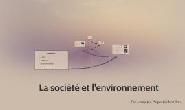 La Société et l'Environnement