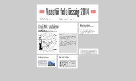 Vezetői felelősség 2014