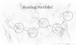 Reading Portfolio!