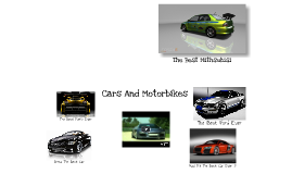 Copy of Super Cars And Motorbikes