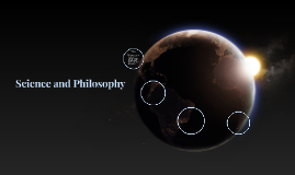 Science and Philosophy