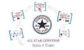 Desenvolvimento de Produtos - ALL STAR - CONVERSE