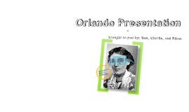 Orlando Presentation: Allusion