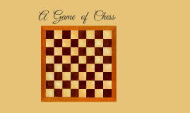 Copy of The Chessboard