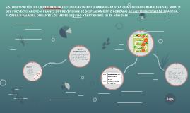 SISTEMATIZACIÓN DE LA EXPERENCIA DE FORTALECIMIENTO ORGANIZA
