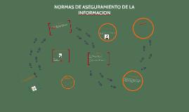 Copy of NORMAS DE ASEGURAMIENTO DE LA INFORMACION