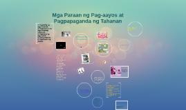 Copy of Mga Paraan ng Pag-aayos at Pagpapaganda ng Tahanan