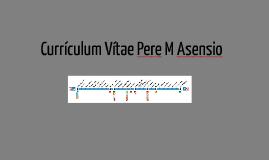 Curriculum Vitae Pere M Asensio