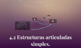 4.2 Estructuras articuladas simples