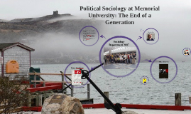 Political Sociology at Memorial University: The End of a Gen