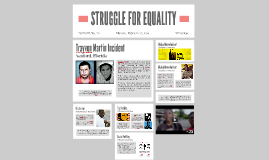 STRUGGLE FOR EQUALITY