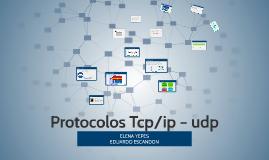 Protocolos Tcp/ip – udp