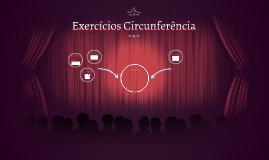 Exercícios Circunferência