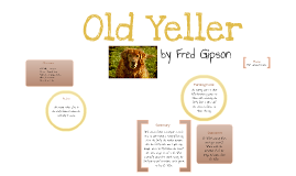 Old yeller book report