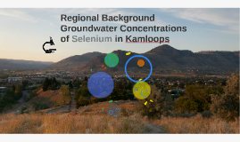 Regional Background Groundwater Concentrations of Selenium