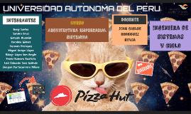 Cadena de Valor y diagrama Pizza Hut