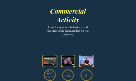 Commercial Activity