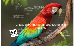 Copy of  Ciudades con declaratoria de Monumento Nacional