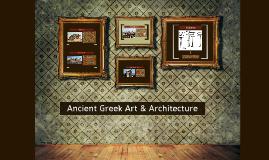Ancient Greek Art & Architecture