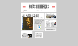 NOTAS CIENTIFICAS