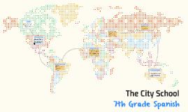 7th Grade Spanish 2016