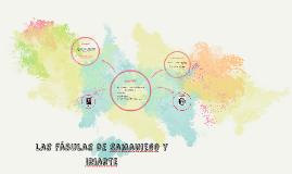 Las fábulas de Samaniego y Iriarte