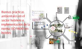 Prácticas ambientales e ISO 14001 en hoteles