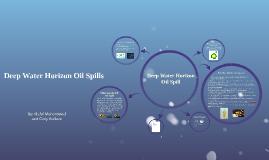 Deep Horizon Oil Spill