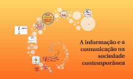 A informação na sociedade contemporânea
