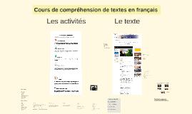 Cours Français CL Lundi 14 août