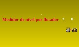 interruptor de flotador