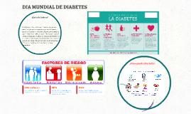 DIA MUNDIAL DE DIABETES