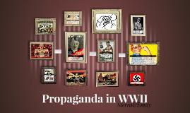 Propaganda in WWII