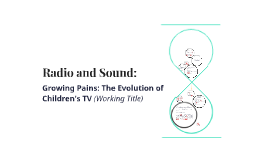 Radio and Sound: