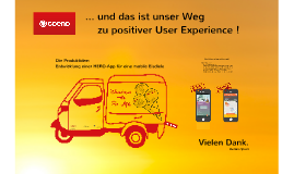 Gute Usability + fancy Design = positive User Experience ?